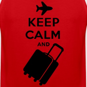 Keep Calm and Carry on Luggage - Men's Premium Tank