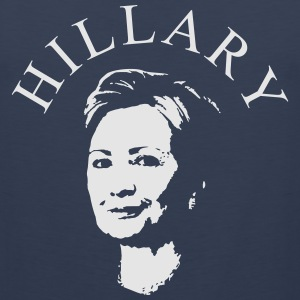 Hillary Clinton Shirt - Men's Premium Tank