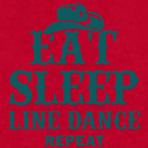 EAT, SLEEP, LINE DANCE, REPEAT Mugs & Drinkware - Men's T-Shirt by American Apparel