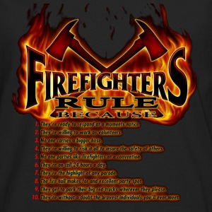 Firefighters Rule - Men's Premium Long Sleeve T-Shirt