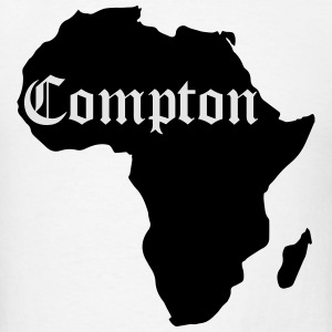 Compton Is Africa, Kendrick Inspiration Sportswear - Men's T-Shirt