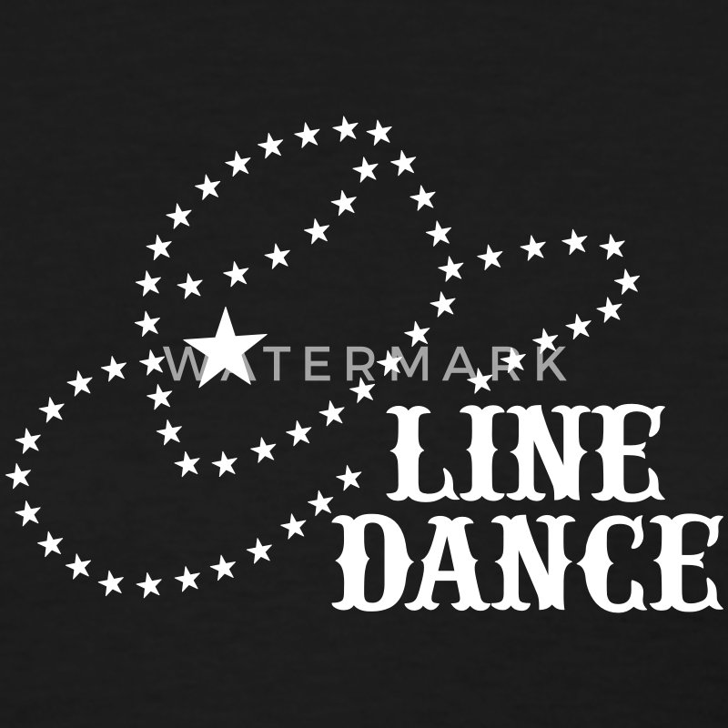LINE DANCE STAR HAT Women's T-Shirts - Women's T-Shirt