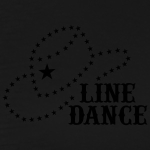 LINE DANCE STAR HAT Zip Hoodies & Jackets - Men's Premium T-Shirt