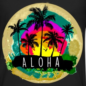 Aloha! - Men's Premium Long Sleeve T-Shirt