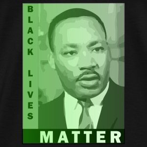 Black Lives Matter - Martin Luther King Jr. Bags & backpacks - Men's Premium T-Shirt