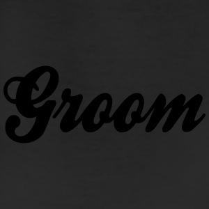 Cool Groom Script Design Caps - Leggings