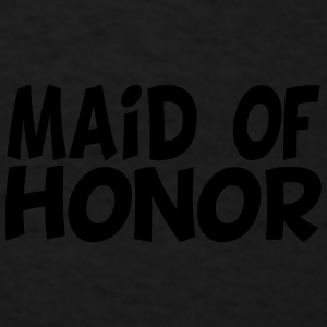 Maid of Honor Design Caps - Men's T-Shirt