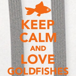 Keep calm and love goldfishes Mugs & Drinkware - Contrast Hoodie