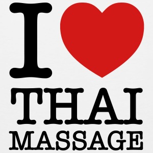 I (Heart) Thai Massage Women's T-Shirts - Men's Premium Tank