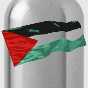 bandera palestina - Water Bottle