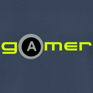 gamer A key Tank Tops - Men's Premium T-Shirt