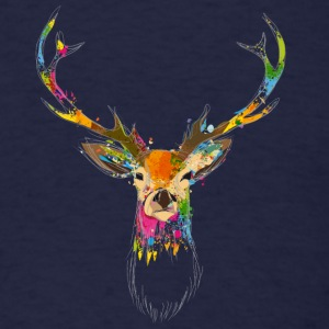 Watercolor deer Sweatshirts - Men's T-Shirt