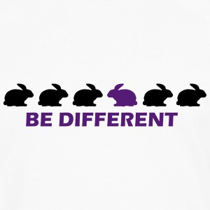 be different bunny T-Shirts - Men's Premium Long Sleeve T-Shirt