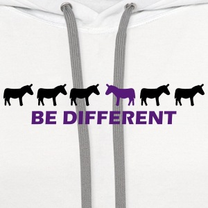 be different donkey T-Shirts - Contrast Hoodie