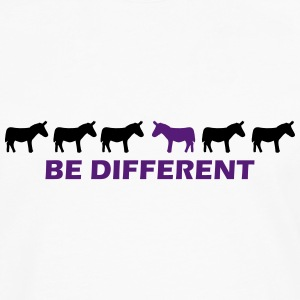 be different donkey T-Shirts - Men's Premium Long Sleeve T-Shirt