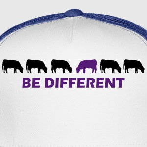 be different cow T-Shirts - Trucker Cap