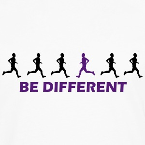 be different runner T-Shirts - Men's Premium Long Sleeve T-Shirt