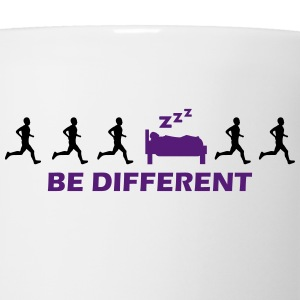 be different sleeping T-Shirts - Coffee/Tea Mug