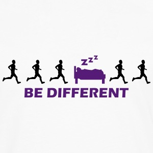 be different sleeping T-Shirts - Men's Premium Long Sleeve T-Shirt
