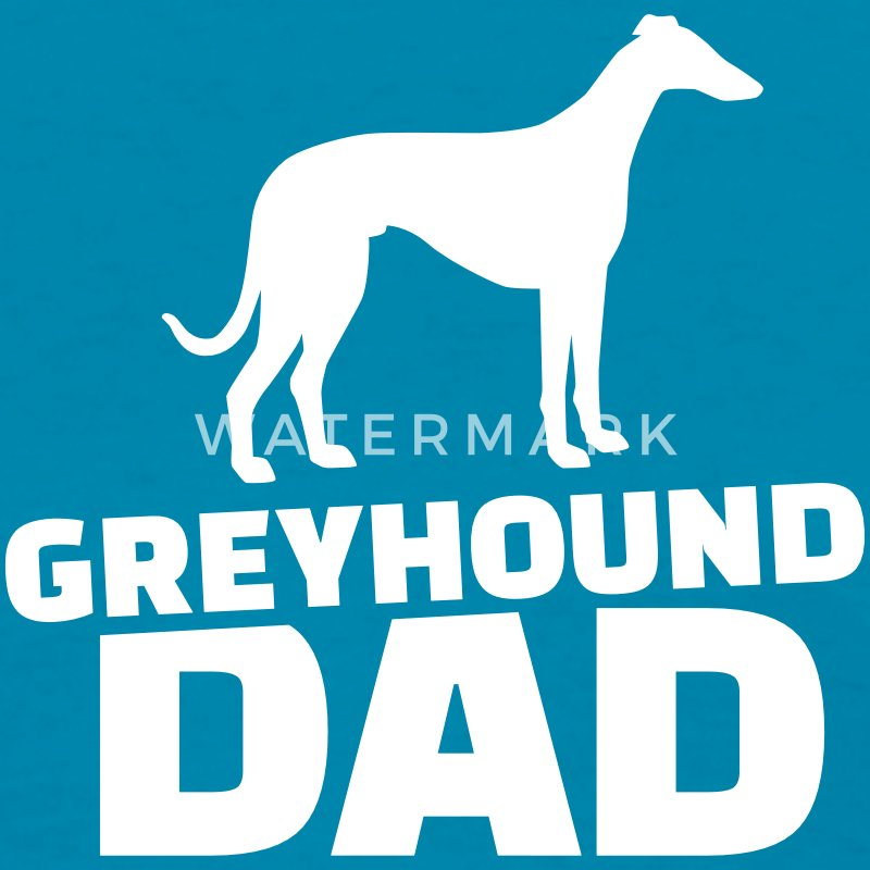 Greyhound Dad Women's T-Shirts - Women's T-Shirt