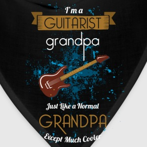 Guitar T-shirt - Real grandpas play guitar - Bandana
