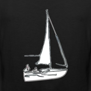 sailboat - Men's Premium Tank