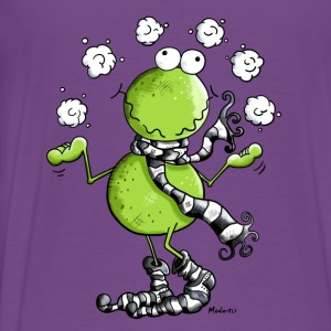 Funny Winter Frog  Tanks - Men's Premium T-Shirt
