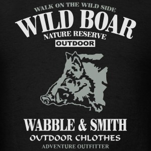 Wild Boar Hoodies - Men's T-Shirt