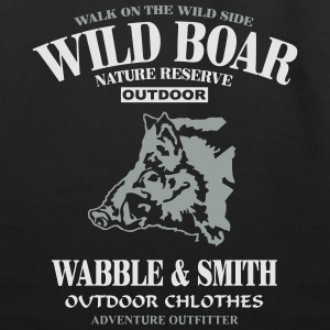 Wild Boar Hoodies - Eco-Friendly Cotton Tote