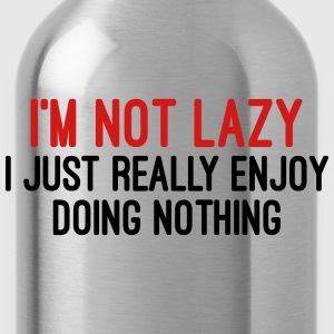 I'm Not Lazy Hoodies - Water Bottle