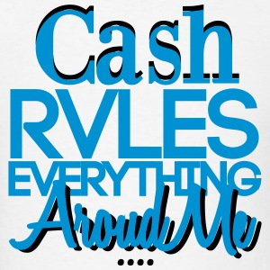 Cash Rules Everything Around Me Sportswear - Men's T-Shirt