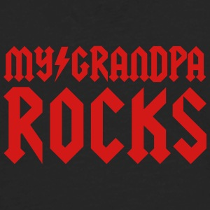 My grandpa rocks Kids' Shirts - Men's Premium Long Sleeve T-Shirt