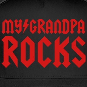My grandpa rocks Baby & Toddler Shirts - Trucker Cap