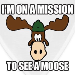 Mission To See a Moose Vacation T-Shirts - Bandana