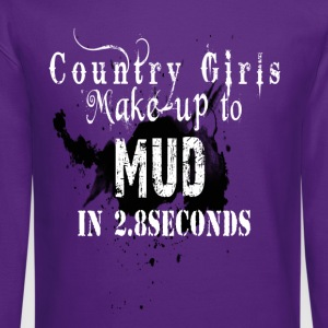 Mud Diving Gal Women's T-Shirts - Crewneck Sweatshirt