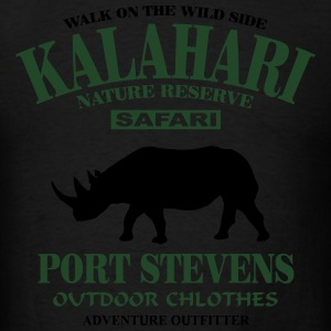 Kalahari Rhino Hoodies - Men's T-Shirt