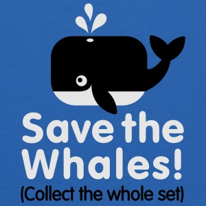 Save the whales (Collect the whole set) Baby & Toddler Shirts - Kids' Hoodie