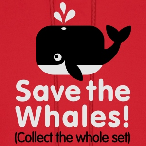 Save the whales (Collect the whole set) Women's T-Shirts - Men's Hoodie
