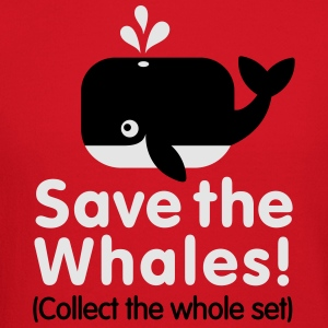 Save the whales (Collect the whole set) Women's T-Shirts - Crewneck Sweatshirt