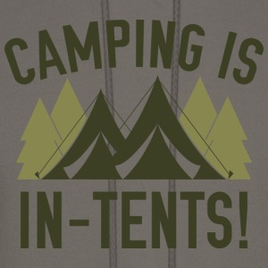 Camping Is In-Tents! - Men's Hoodie