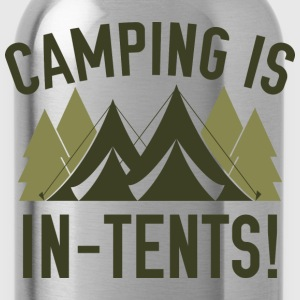 Camping Is In-Tents! - Water Bottle