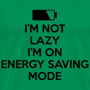 ENERGY SAVING MODE HOODIE - Men's Premium T-Shirt
