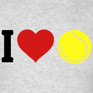 I love tennis Tank Tops - Men's T-Shirt