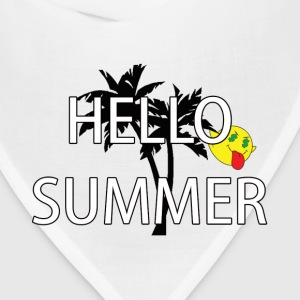 hello summer T-Shirts - Bandana
