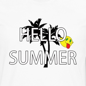 hello summer T-Shirts - Men's Premium Long Sleeve T-Shirt