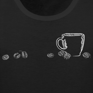 coffee chalk - Men's Premium Tank