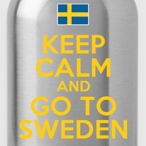 Keep Calm Go To Sweden T-Shirts - Water Bottle