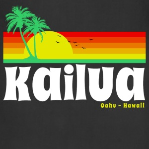 Kailua Oahu Hawaii Women's T-Shirts - Adjustable Apron