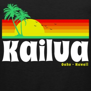 Kailua Oahu Hawaii Women's T-Shirts - Men's Premium Tank