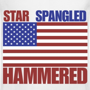 4th of July star spangled hammered  - Men's Long Sleeve T-Shirt